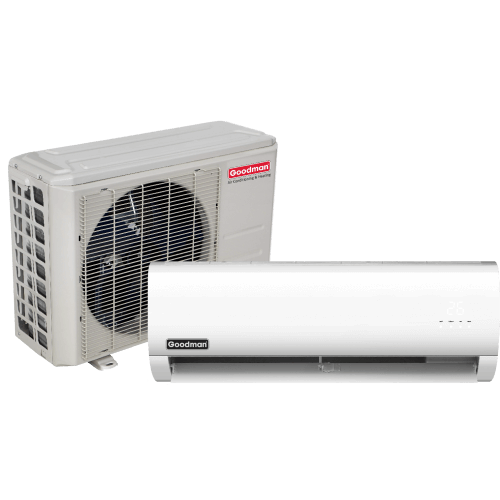 wall-mounted Goodman - 17 Seer AC