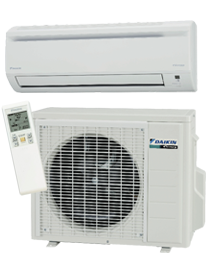 Wall-mounted DAIKIN AC - K Series - up to 19 SEER
